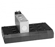 Solenoid valves for sub-base mounting