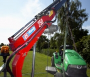 HMF Handy Cranes 250-T Series - small and light - long and strong!