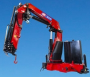 HMF Large Range Crane 3220-K-RCS - an efficient, simple and cost-effective crane in the 30 tm range