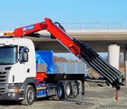 HMF Large Range Crane 4020-K – The latest addition from HMF
