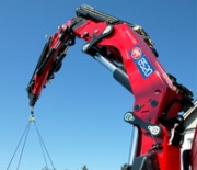 HMF Large Range Crane 8520-K – a new heavyweight from HMF