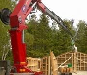 HMF Large Range Crane 3000 K