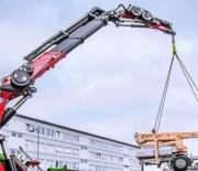 HMF Large Range Crane 9520-K/OK-RCS NEW