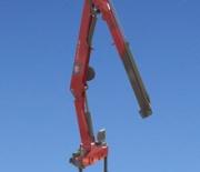 HMF Long Boom Crane 1430 L