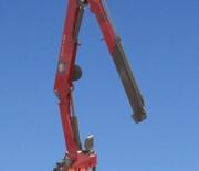 HMF Long Boom Crane 1730 L