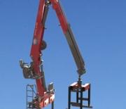 HMF Long Boom Crane 2110 L