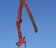 HMF Long Boom Crane 2530 L