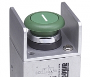 Push button valves with low actuating force Series ST