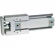 Linear guides for pneumatic cylinders