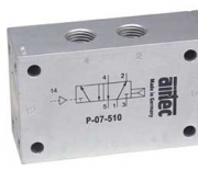 Pneumatically operated valves G1/4 Ports on one side