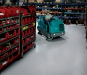 T20 Industrial Rider Floor Scrubber