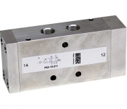 Pneumatically operated stainless steel valves
