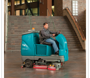 T16 Battery-Powered Rider Sweeper-Scrubber