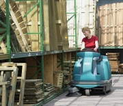 S12 Compact Rider Sweeper